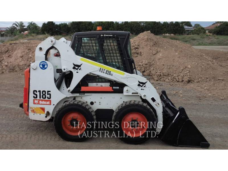 BOBCAT SKID STEER LOADERS S185_BC equipment  photo 5