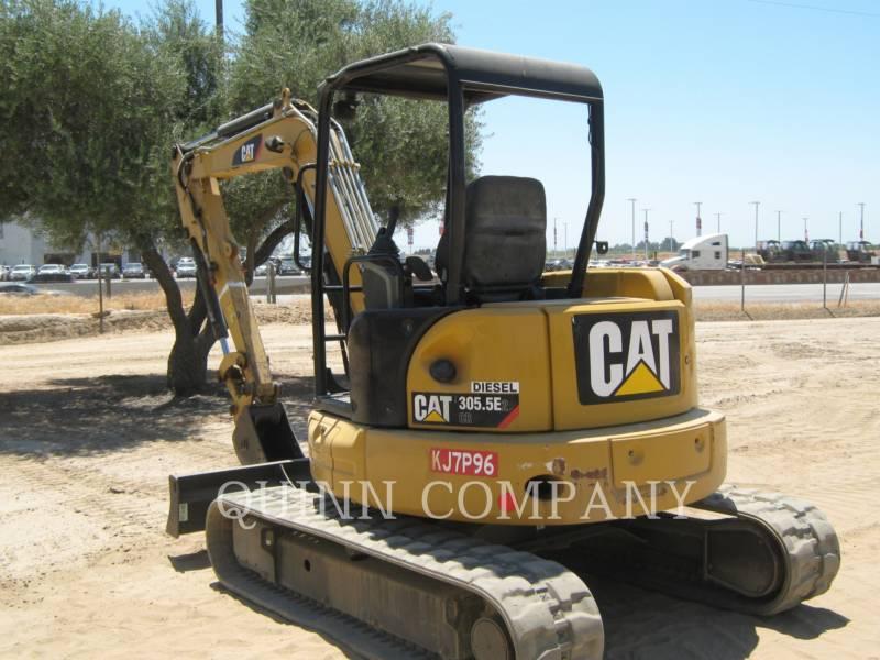 CATERPILLAR TRACK EXCAVATORS 305.5E2CR equipment  photo 5