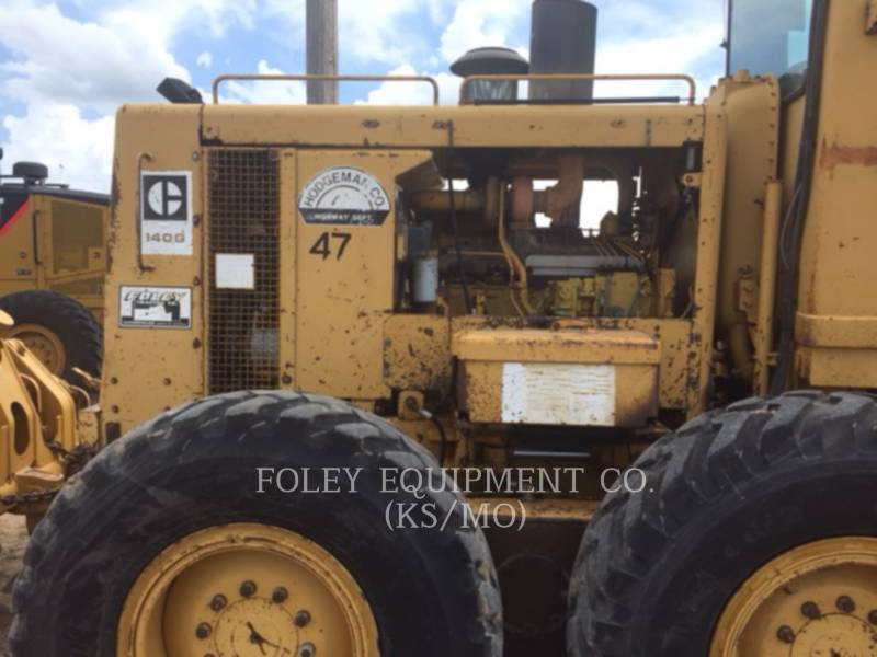 CATERPILLAR MOTORGRADER 140G equipment  photo 6