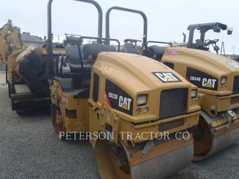 CATERPILLAR ASPHALT PAVERS CB22B equipment  photo 1