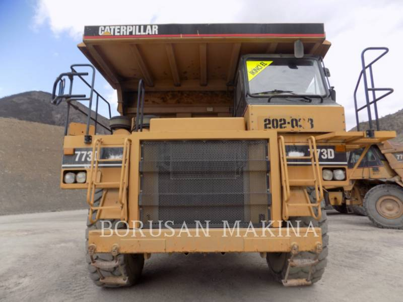 CATERPILLAR OFF HIGHWAY TRUCKS 773D equipment  photo 7