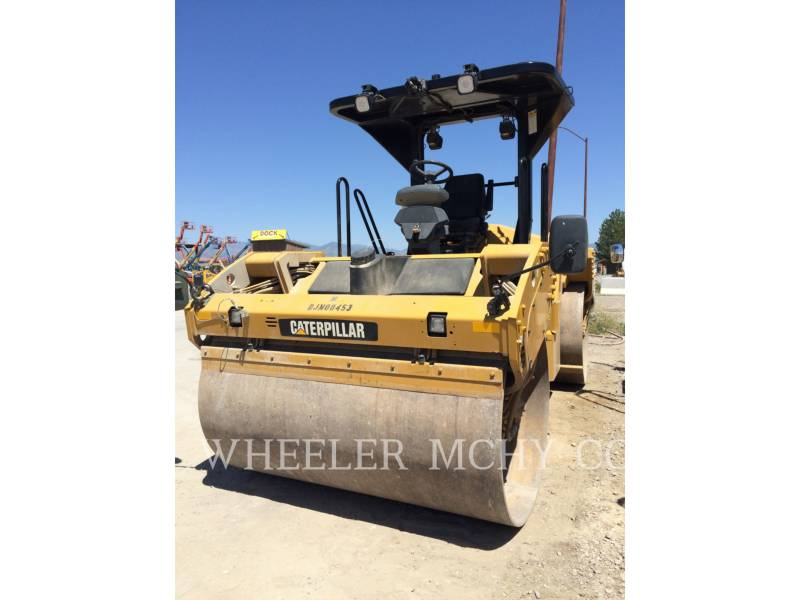 CATERPILLAR VIBRATORY DOUBLE DRUM ASPHALT CB64 GPS equipment  photo 3