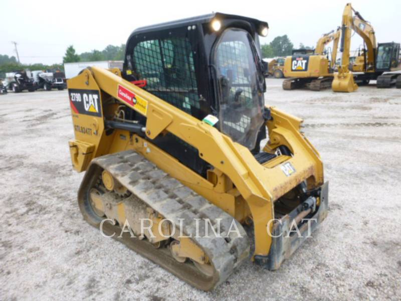 CATERPILLAR TRACK LOADERS 279D CB equipment  photo 2