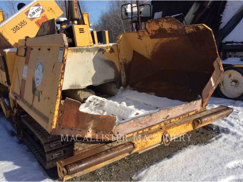 BLAW KNOX/INGERSOLL-RAND BETONIERE DE ASFALT PF-510 equipment  photo 19