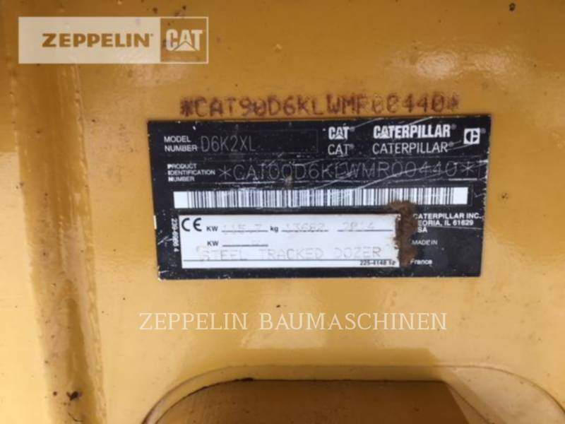 CATERPILLAR ブルドーザ D6K2XL equipment  photo 9