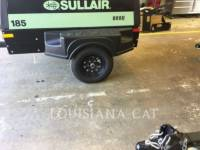 SULLAIR COMPRESSOR DE AR 185COMPWHL equipment  photo 2