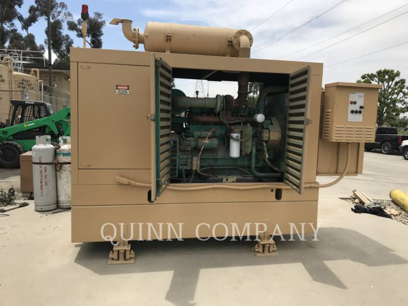 CUMMINS STATIONARY GENERATOR SETS 150KW equipment  photo 1