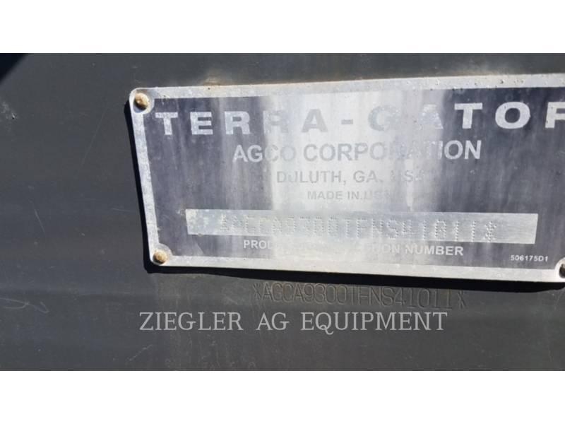 AG-CHEM FLOATERS TG9300 equipment  photo 19