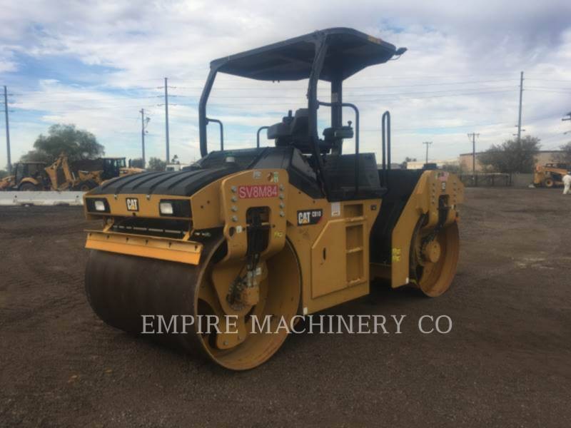 CATERPILLAR TANDEMOWY WALEC WIBRACYJNY DO ASFALTU (STAL-STAL) CB10 equipment  photo 4