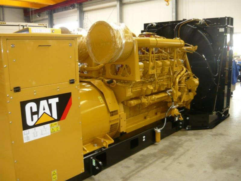 CATERPILLAR 固定式発電装置 3512B equipment  photo 1