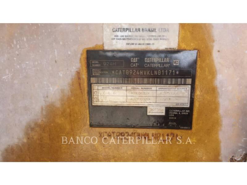 CATERPILLAR ホイール・ローダ/インテグレーテッド・ツールキャリヤ 924H equipment  photo 5