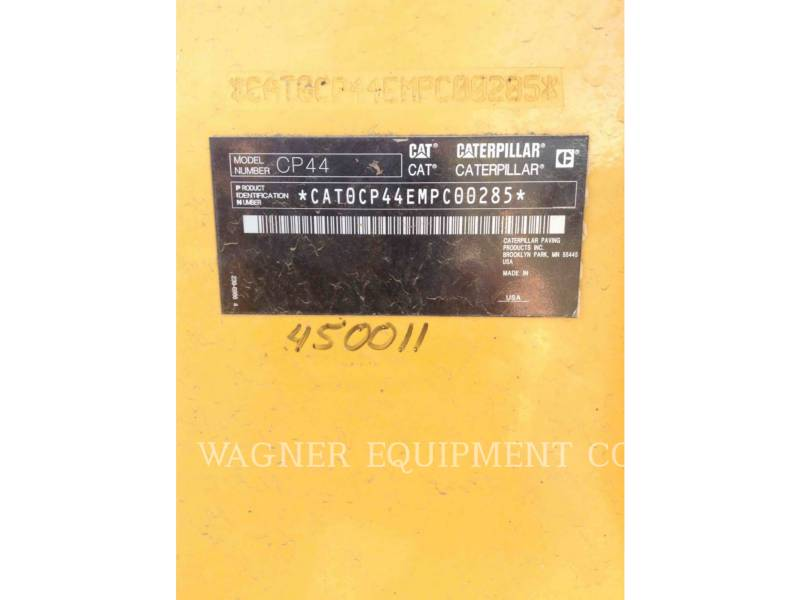 CATERPILLAR COMPACTORS CP44 equipment  photo 5