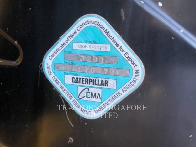 CATERPILLAR TRACK EXCAVATORS 320D equipment  photo 20