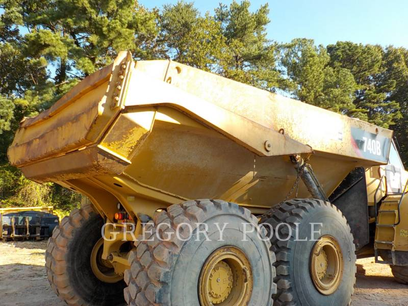 CATERPILLAR WOZIDŁA PRZEGUBOWE 740B equipment  photo 8