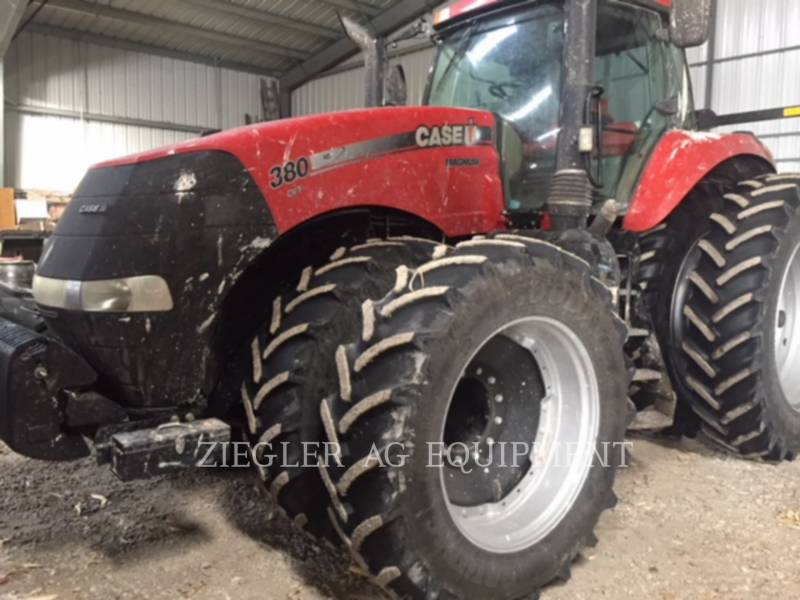 CASE/NEW HOLLAND AG TRACTORS MAGNUM-380 equipment  photo 1