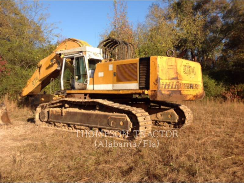 LIEBHERR TRACK EXCAVATORS R 974 B LITRONIC HD equipment  photo 3