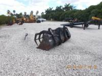 CATERPILLAR RETENTOR 1.1 CYD MULTI-GRAPPLE BUCKET FOR TELEHANDLER equipment  photo 2