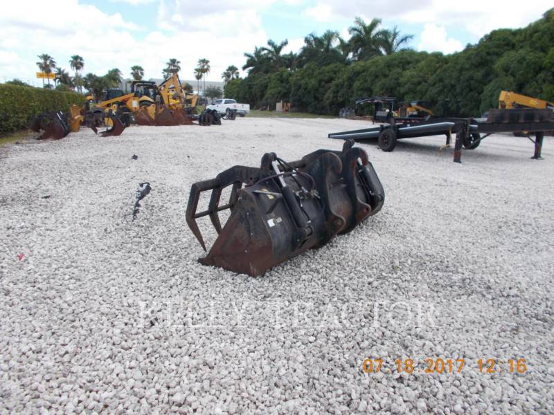CATERPILLAR WT - グラップル 1.1 CYD MULTI-GRAPPLE BUCKET FOR TELEHANDLER equipment  photo 2