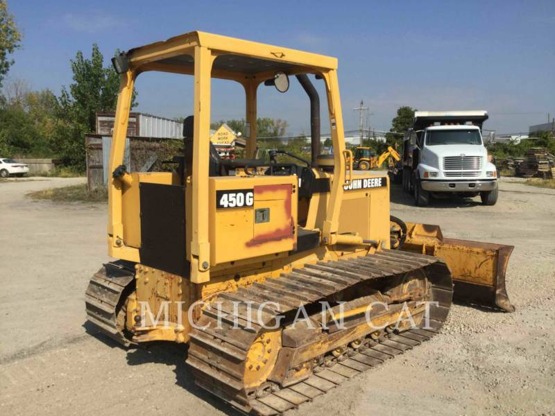JOHN DEERE TRACK TYPE TRACTORS 450G equipment  photo 4