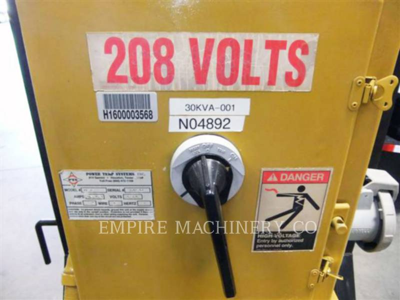 OTHER US MFGRS MISCELLANEOUS / OTHER EQUIPMENT 30KVA equipment  photo 1