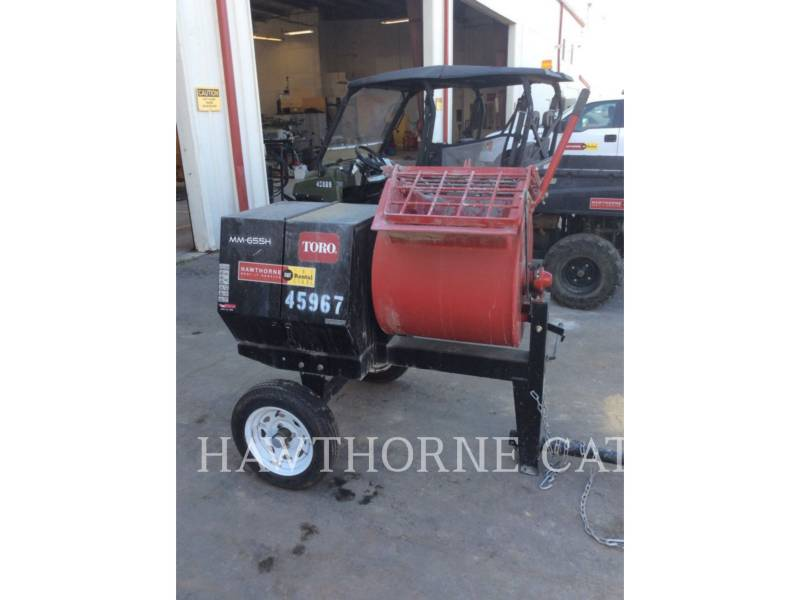 TORO EQUIPO PARA CONCRETO MIXER MTR equipment  photo 2