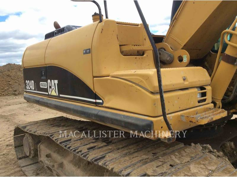 CATERPILLAR KETTEN-HYDRAULIKBAGGER 324DL equipment  photo 3