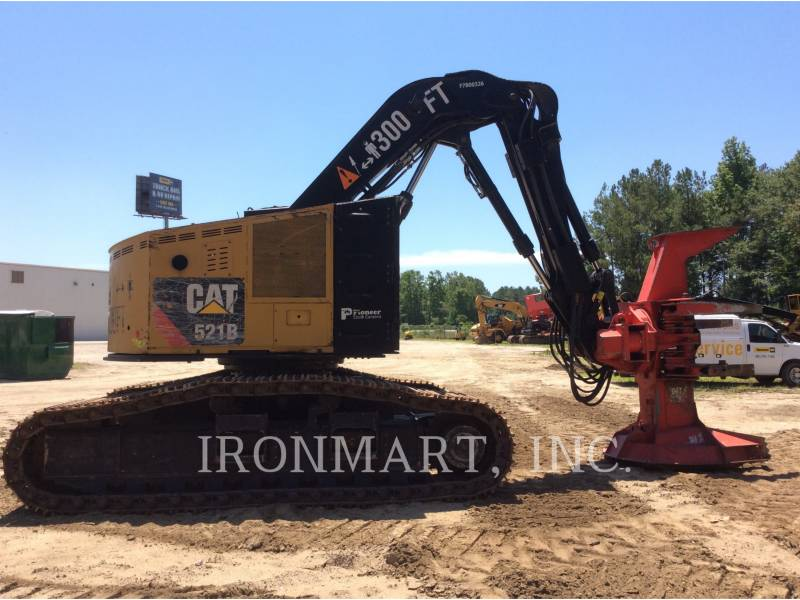 CATERPILLAR FORESTRY - FELLER BUNCHERS - TRACK 521B equipment  photo 3