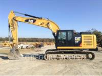 CATERPILLAR PELLES SUR CHAINES 329F L equipment  photo 8