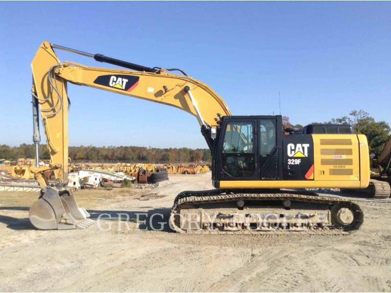 CATERPILLAR TRACK EXCAVATORS 329FL equipment  photo 8
