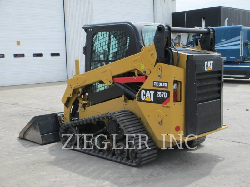CATERPILLAR CARGADORES MULTITERRENO 257DS equipment  photo 5