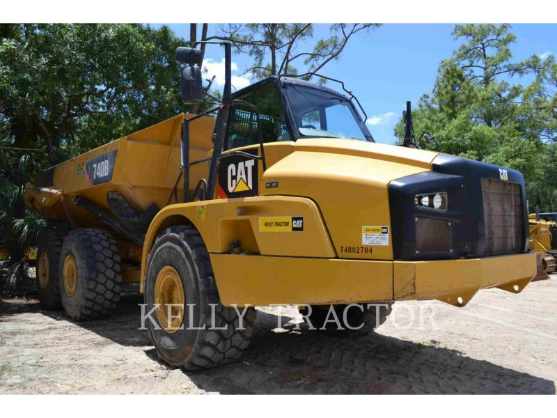 CATERPILLAR TOMBEREAUX ARTICULÉS 740B equipment  photo 1