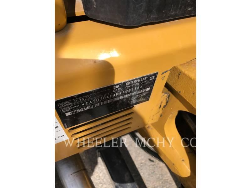 CATERPILLAR トラック油圧ショベル 304E2 C3 equipment  photo 2