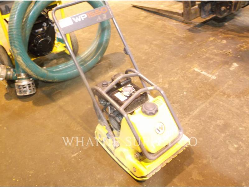 WACKER CORPORATION VERDICHTER WP1550AW equipment  photo 1