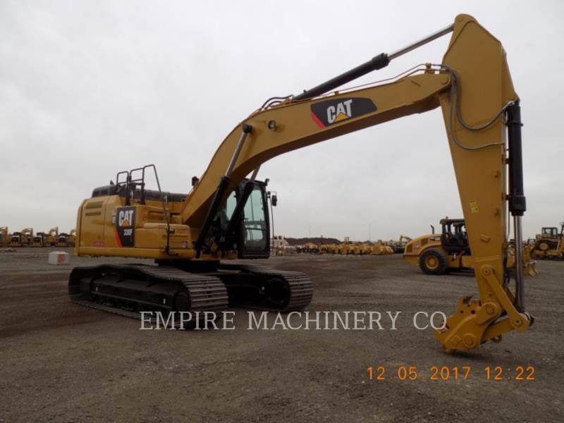 CATERPILLAR RUPSGRAAFMACHINES 330FL equipment  photo 1
