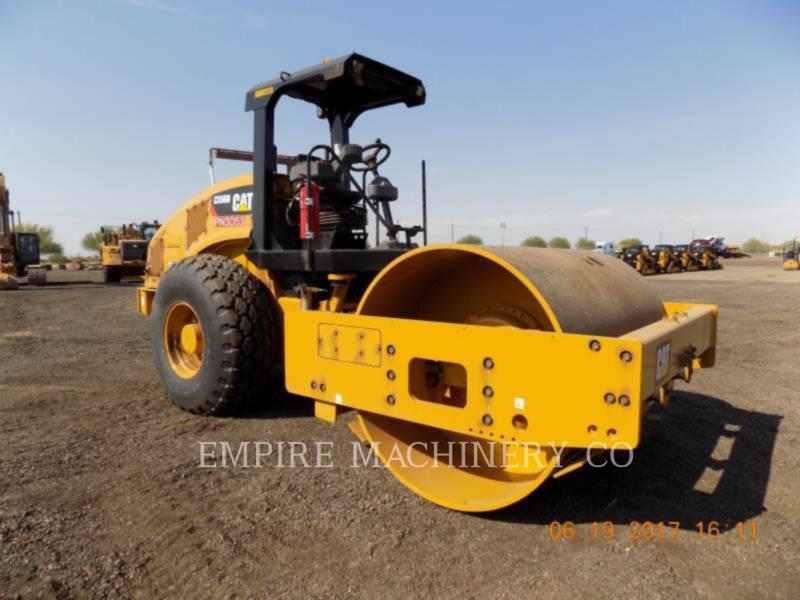 CATERPILLAR TRILLENDE ENKELE TROMMEL GLAD CS56B equipment  photo 1
