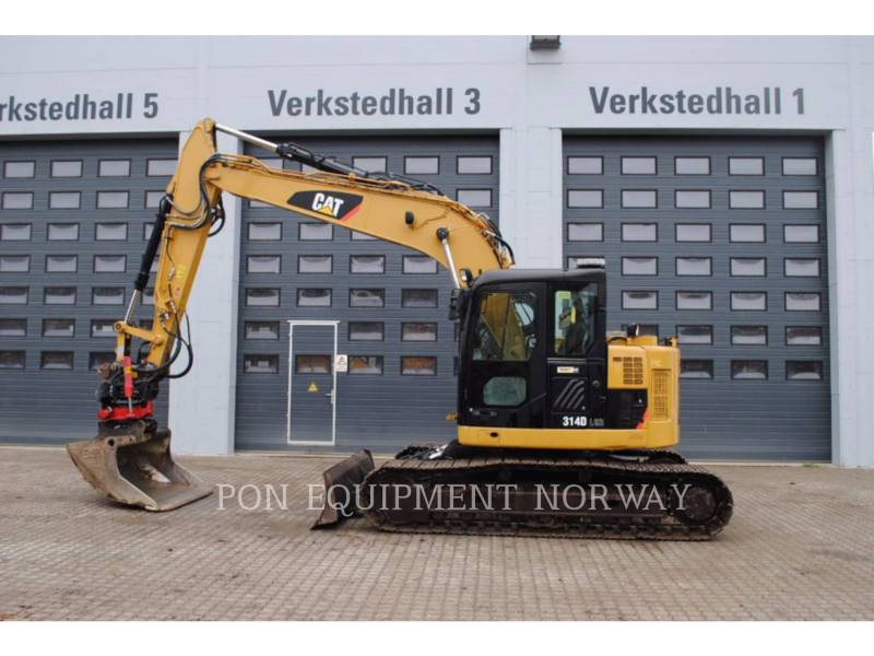 CATERPILLAR TRACK EXCAVATORS 314D equipment  photo 1