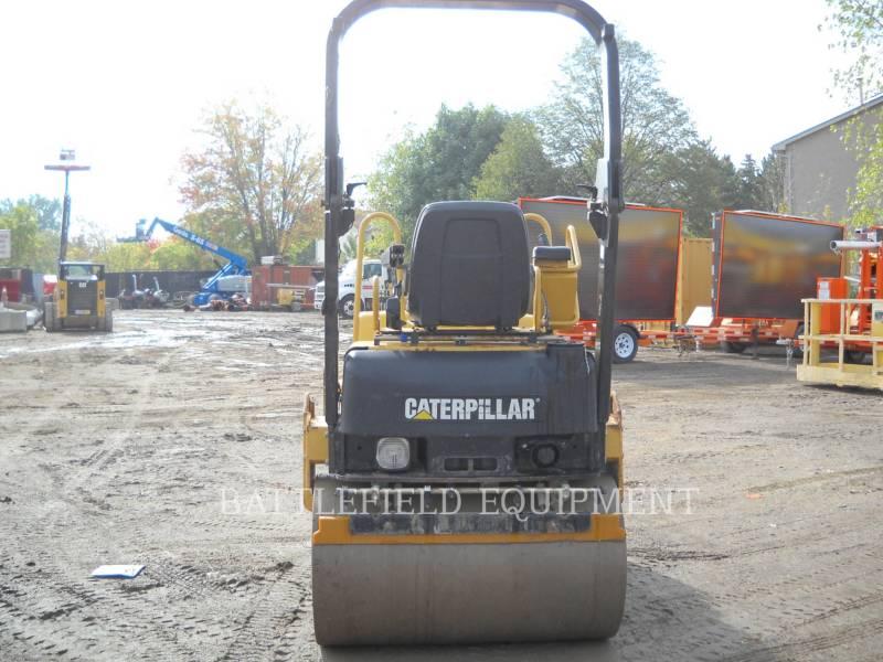 CATERPILLAR ROLO COMPACTADOR DE ASFALTO DUPLO TANDEM CB-224E equipment  photo 7