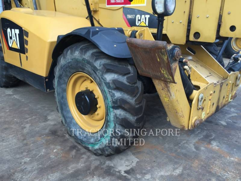 Caterpillar STIVUITOR TELESCOPIC TH417 equipment  photo 12