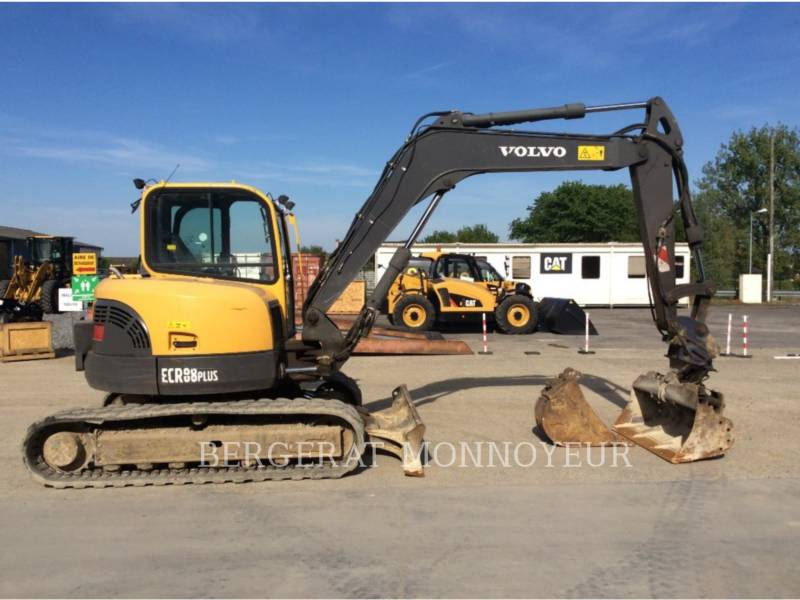 VOLVO CONSTRUCTION EQUIPMENT TRACK EXCAVATORS ECR88 equipment  photo 1