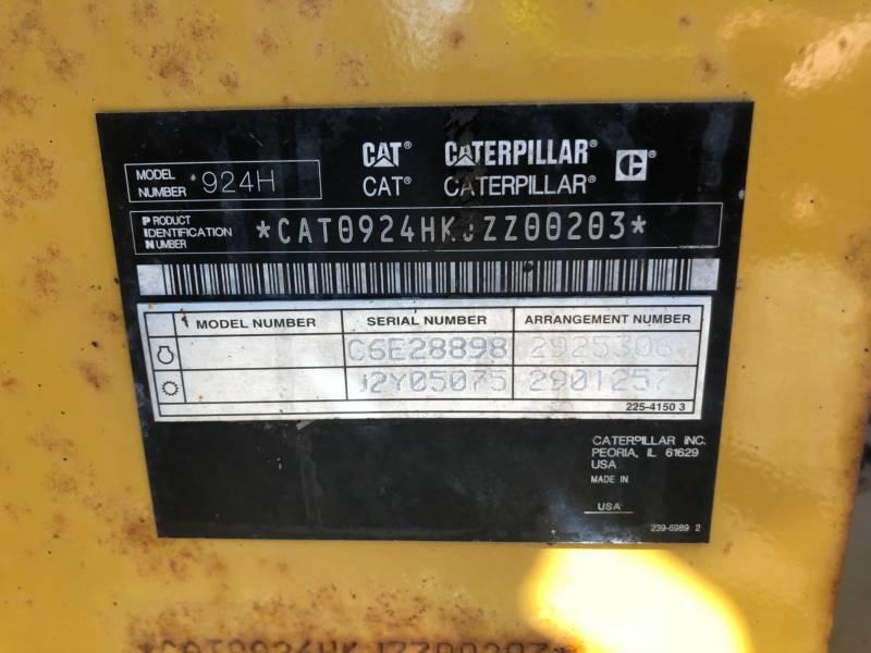 CATERPILLAR CARGADORES DE RUEDAS 924HZ equipment  photo 22