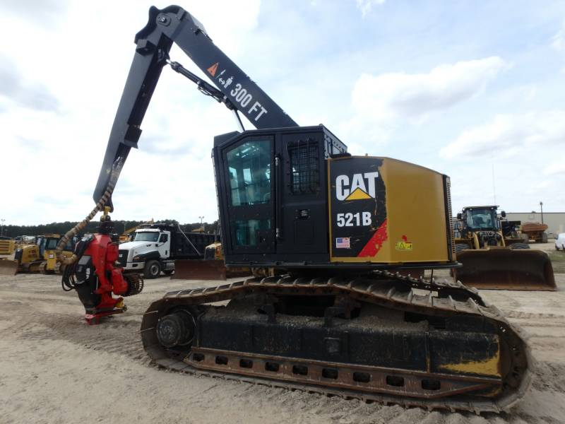CATERPILLAR FORESTAL - TALADORES APILADORES - DE CADENAS 521B equipment  photo 2