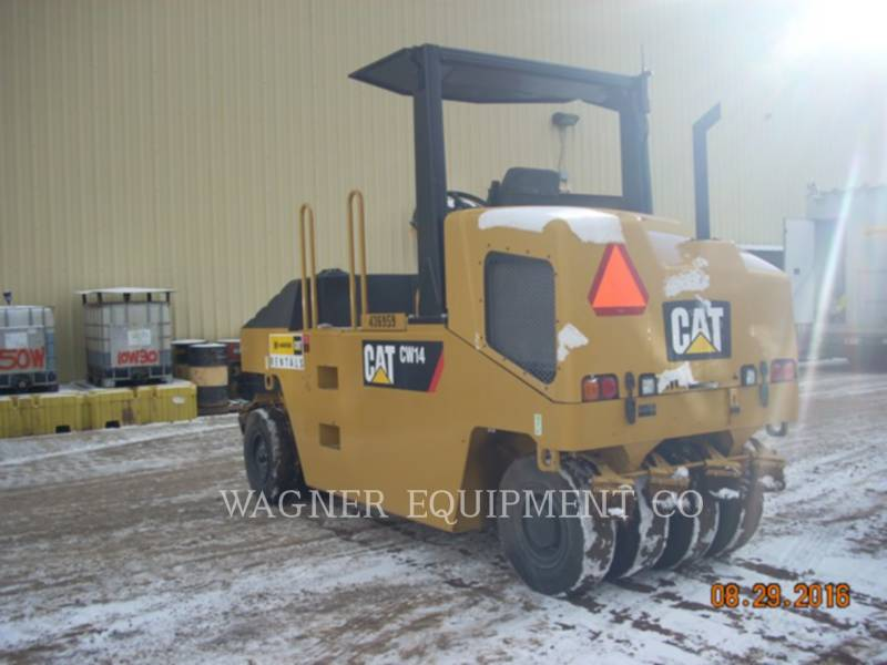CATERPILLAR COMPACTORS CW14 equipment  photo 1