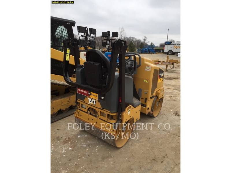 CATERPILLAR TANDEMVIBRATIONSWALZE, ASPHALT CB14B equipment  photo 4