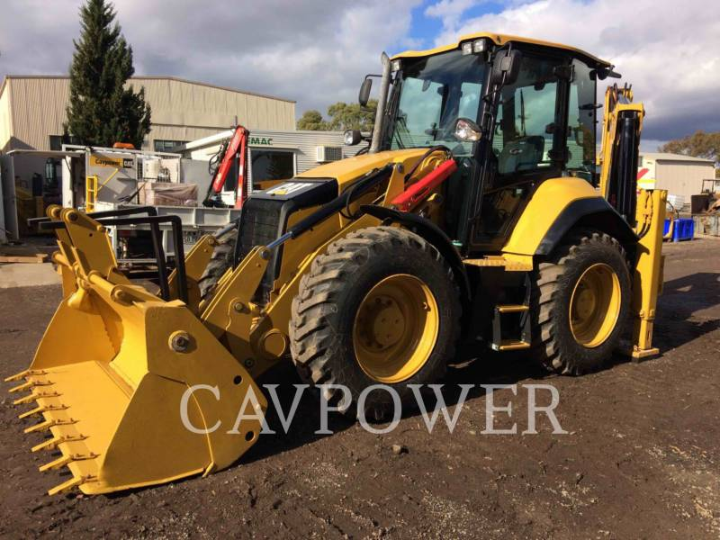 CATERPILLAR GRAAF-LAADCOMBINATIES 444F2LRC equipment  photo 1