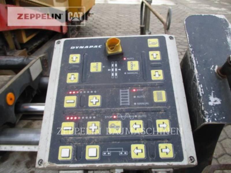 DYNAPAC ASPHALT PAVERS F182CS equipment  photo 16