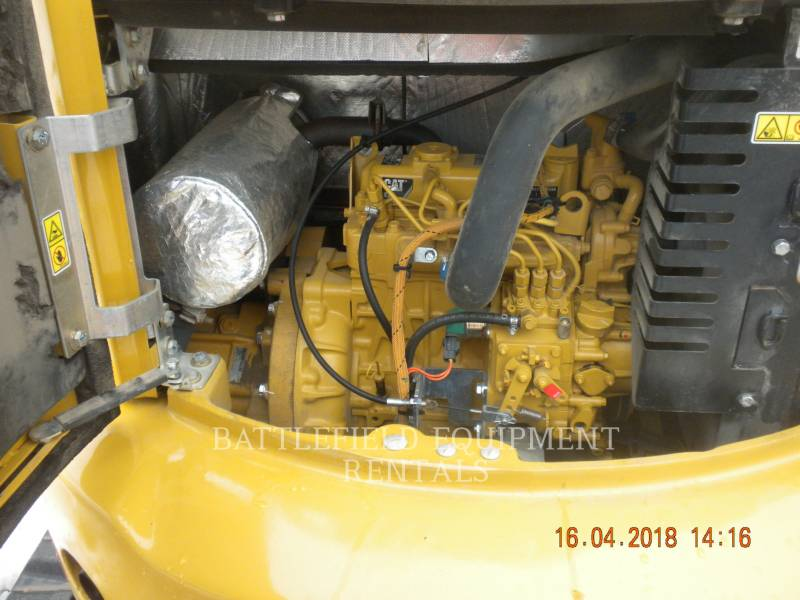 CATERPILLAR ESCAVATORI CINGOLATI 303E CR equipment  photo 6
