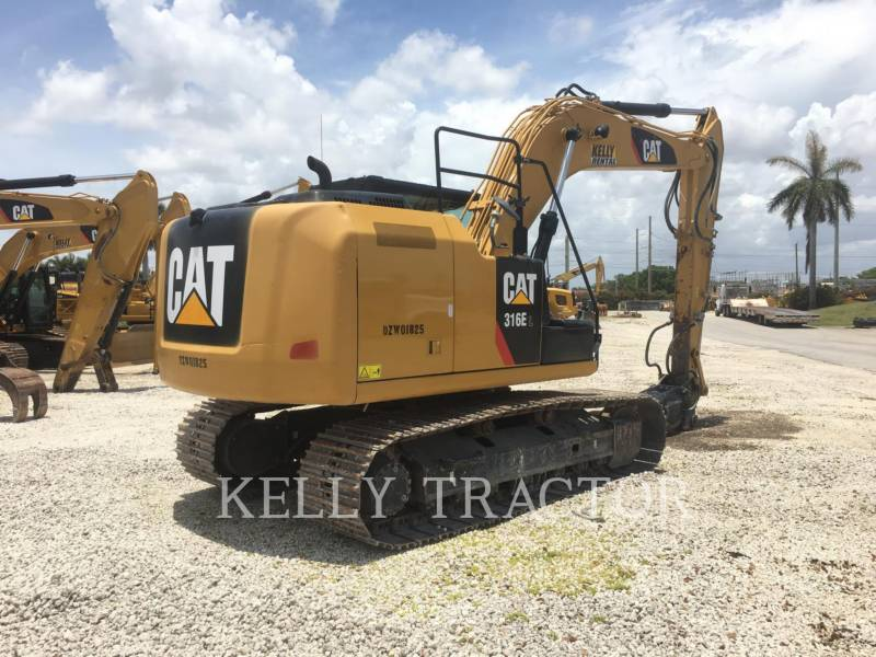 CATERPILLAR ESCAVADEIRAS 316EL equipment  photo 8