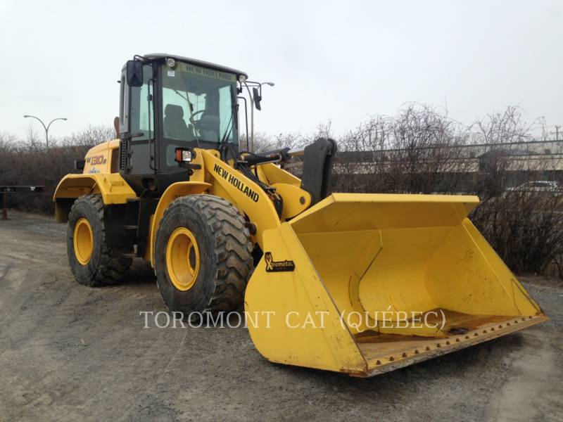 NEW HOLLAND RADLADER/INDUSTRIE-RADLADER W130B equipment  photo 2