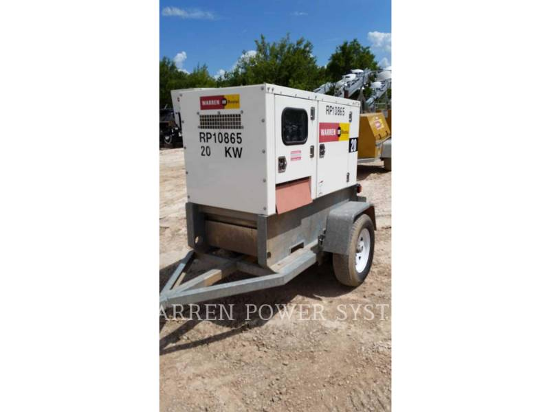 NORAM PORTABLE GENERATOR SETS N20 equipment  photo 4