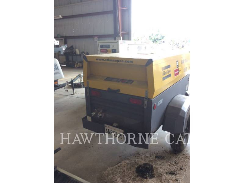 ATLAS-COPCO AIR COMPRESSOR (OBS) 185 XAS equipment  photo 1